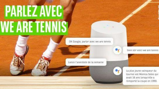 Format à la loupe - BNP Paribas, We Are Tennis