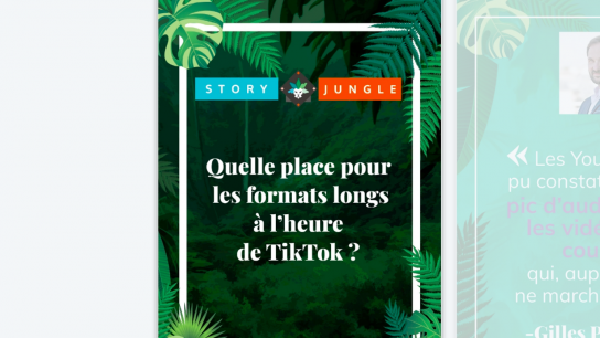 Quelle place pour les formats longs à l'heure de TikTok?