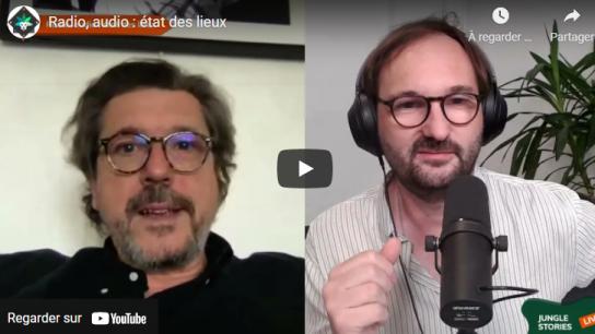 Entretien avec  Jérôme Colombain sur l'avenir des  contenus audio.