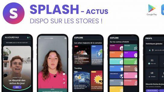 Splash-Actu: «la première application d'actualité pensée pour les 15-25 ans»